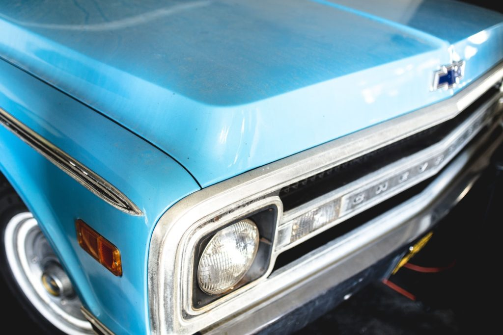 Picture of a 70's Chevy C-10 Rust Free Truck